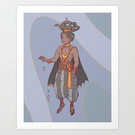 Mandusa Aon Art Print