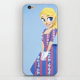 Girl of Liberty iPhone Skin