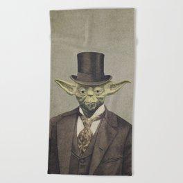 Sir Yodington  Beach Towel