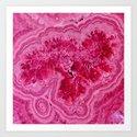 Pink Agate Mineral Gem Treasure by originalaufnahme