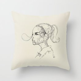 Cheerful Throw Pillow