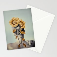 WOMAN WITH FLOWERS 2 Stationery Cards