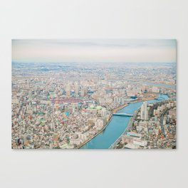 Tokyo Cityscape 06 Canvas Print