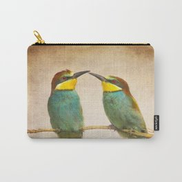 Love time. Bee-eaters Carry-All Pouch