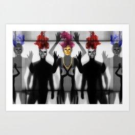 Body Language 76 Art Print