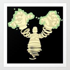 Mummy Dearest Art Print