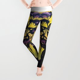 Purple Forest Leggings