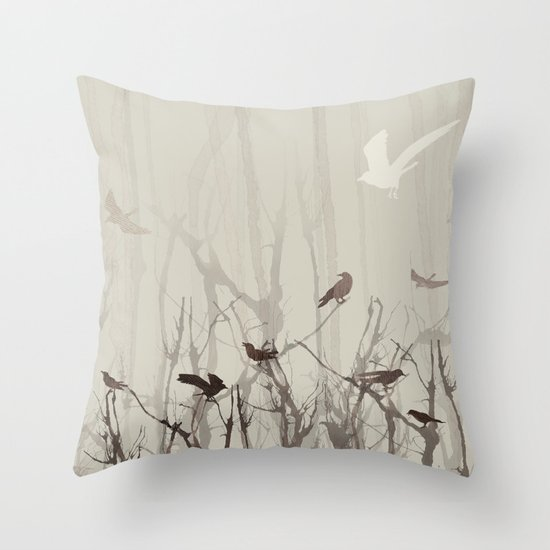 Songs at Dusk Throw Pillow