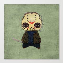A Boy - Jason ( Friday the 13th) Canvas Print