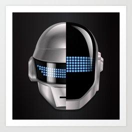 Daft Punk - Tron Legacy Art Print