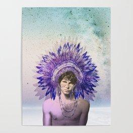 Let's swim to the moon - Mr. Mojo Risin Poster