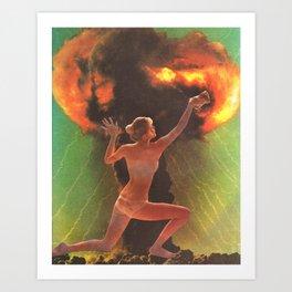 Nuclear Cleanup Art Print