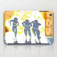 heroes iPad Cases featuring Heroes by SquidInkDesigns