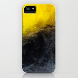 Vivid Mix Of Ink Clouds iPhone Case