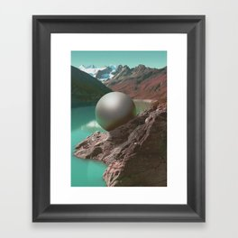 Is fear Framed Art Print