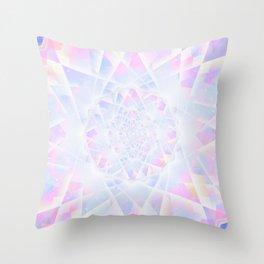 Crystal Diamond Shine Throw Pillow