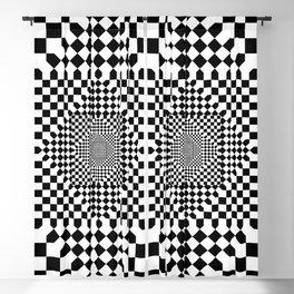 Illusion Art Fashion Blackout Curtain