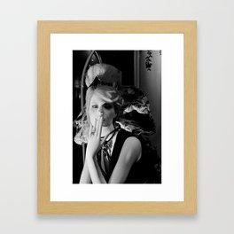 Keep my Secret Framed Art Print
