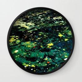 Andromeda Pool Wall Clock