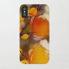 Nutmeg iPhone X Slim Case