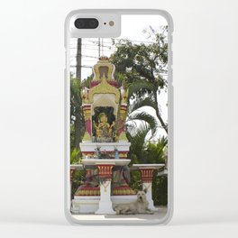 Bangkok Shrine Clear iPhone Case