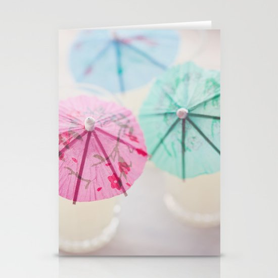 Vacation Colors Stationery Cards
