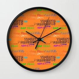 Journey 2 Wall Clock