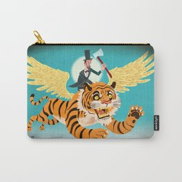 Abe Lincoln Flies a Tiger Carry-All Pouch