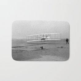 Wright Brothers First flight Kitty Hawk North Carolina December 17 1903 Bath Mat