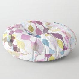Violet Sea Forest Floor Pillow