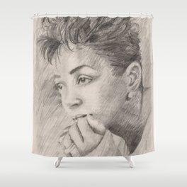 Anita Baker Shower Curtain