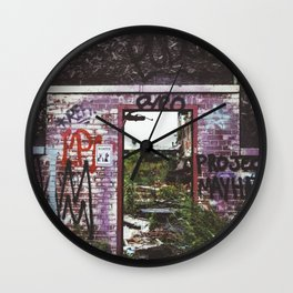 Mayhem Wall Clock