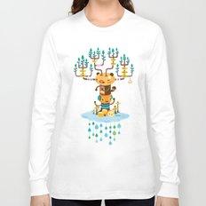 Cloud Music Long Sleeve T-shirt