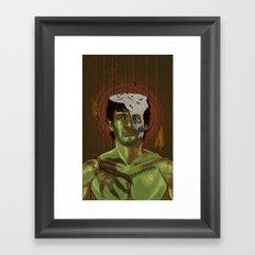 Somebody help Will Graham Framed Art Print