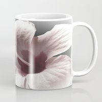 hibiscus Mugs featuring Hibiscus by Lynn Bolt