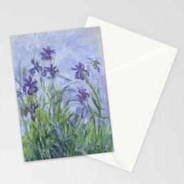 "Claude Monet ""Iris mauves"" Stationery Cards"