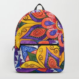 Blossoming Dreams Mandala Backpack