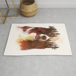 One night in the forest Rug