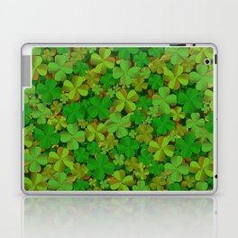 Lucky Clovers Laptop & iPad Skin