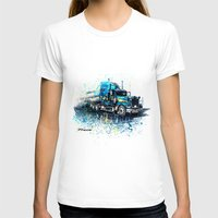 truck T-shirts featuring Truck by Svetlana Sewell