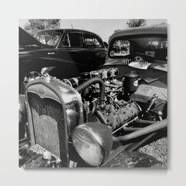 Satan's Chariot Metal Print