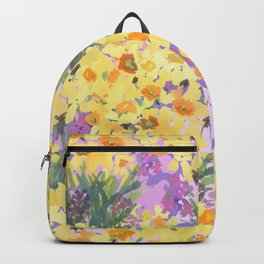 Yellow Daffodil Garden Backpack