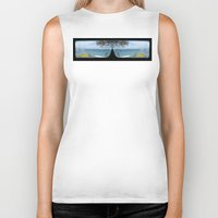 sunglasses Biker Tanks featuring Sunglasses by iownthisurl