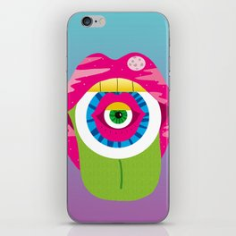 whistleburg - watch your mouth iPhone Skin