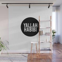 Yallah-Habibi arabic arabia art work Wall Mural