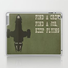 Find a Crew, Find a Job, Keep Flying Laptop & iPad Skin