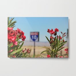 Once Upon A Time In New Mexico Metal Print