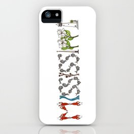 Mississippi Word Art iPhone Case