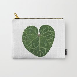 Cyclamen leaf Carry-All Pouch