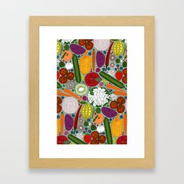 the good stuff mint Framed Art Print